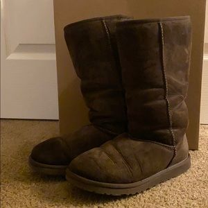 Chocolate Brown tall Uggs